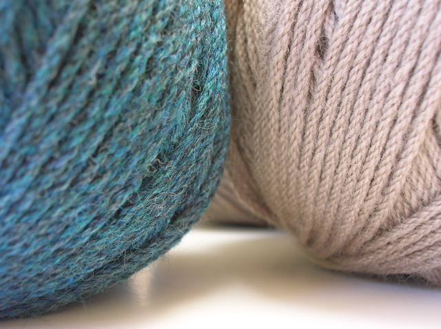 Bendigo yarn, Ocean Tweed and Hemp