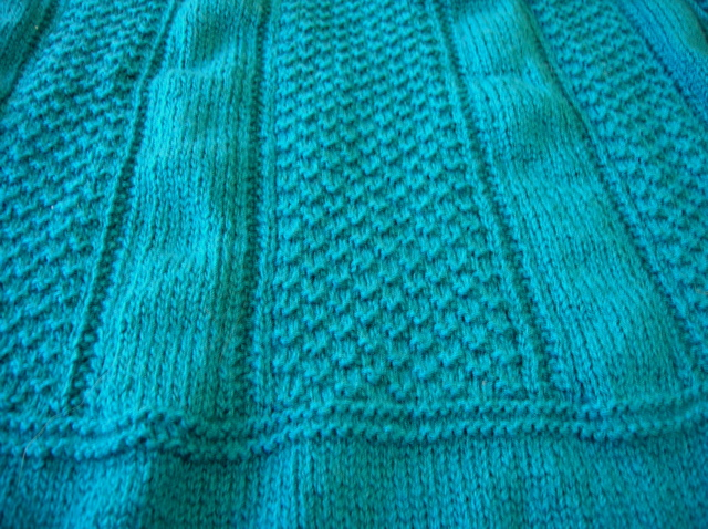 Jo Sharp Fisherman's Rib jumper in Bendigo Ming yarn