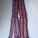 Inkle woven bookmarks