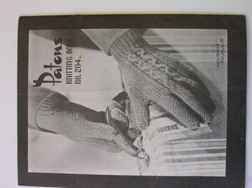 Holiday gloves, from Patons Knitting Book No. 204