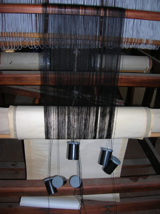 Replacement warp threads