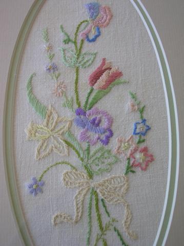 Embroidery detail (Martha Rudge 1900-1963)