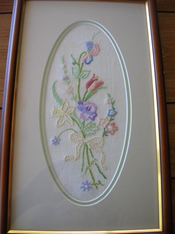 Embroidery by Martha Rudge