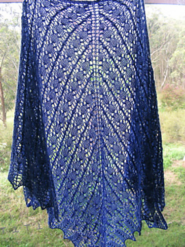 Brangian Shawl - all-lace version