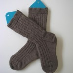 Thuja Socks, in fine yarn