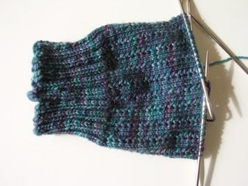 Pattern: Charade Socks Yarn: Saffron Dyeworks Amara