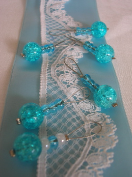 Turquoise stitchmarkers