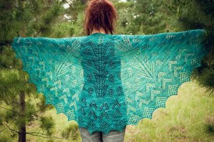 Christmas Lights Shawl