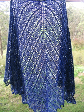 Brangian Shawl All-Lace version