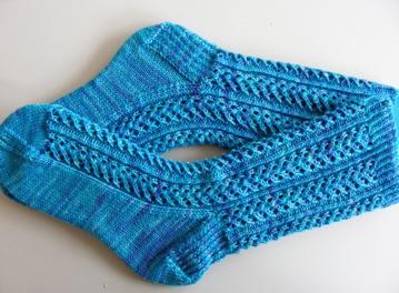 Handdyed Hedera socks