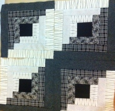 Log cabin quilt blocks 3