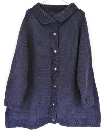 Handknit cardigan