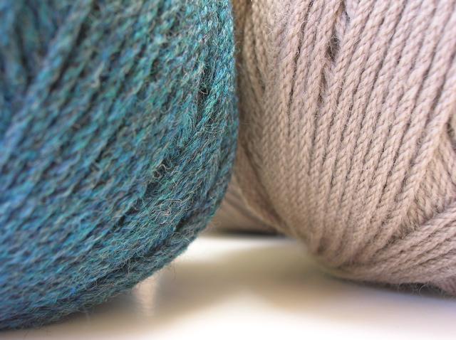 Bendigo yarn, Ocean Tweed and Hemp