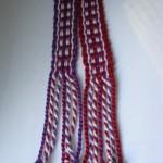Inkle wovenbookmarks