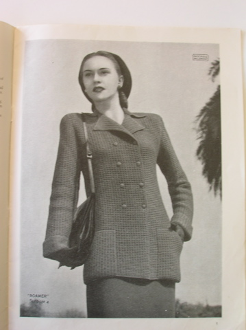 'Roamer' from Patons vintage knitting pattern book - no 236 (Jackets)