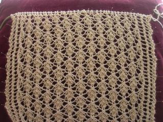 Deciduous Lace Scarf