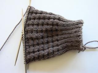 Pattern: Harris Tweed. Yarn: Bendigo Luxury 4ply