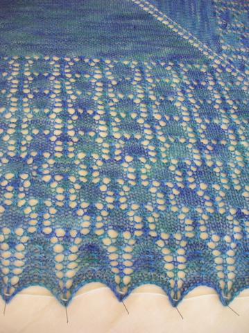 Brangian Shawl - detail