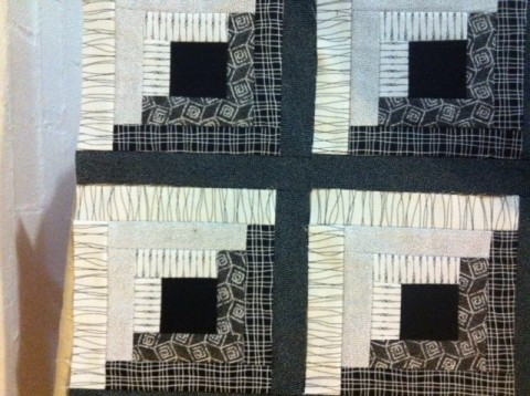 Log cabin quilt blocks 4